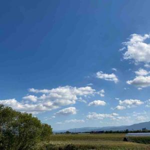 空を見上げて 深呼吸🤗 今日の空 【写真・空】