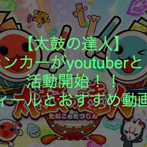 【太鼓の達人】現ランカーがyoutuberとして活動開始!プロフィールとおすすめ動画を紹介!!