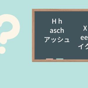 フランス語のアルファベットの読み方