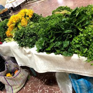 有機野菜を求めて… オーガニック市場へ!