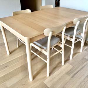 大満足!IKEAのダイニングテーブルセット RONNINGE