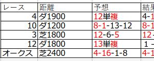 個人的馬券考察(7)結果をまとめます。