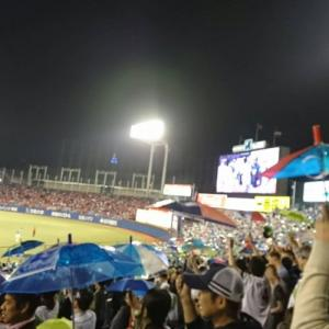【試合結果】2020/06/13 ヤクルト-楽天 @神宮(雨天中止)