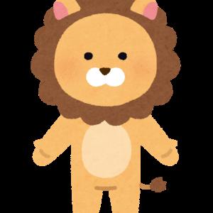 急落中のライオン株を100株買いました。