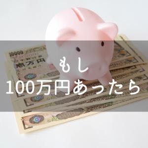 もし100万円あったら?