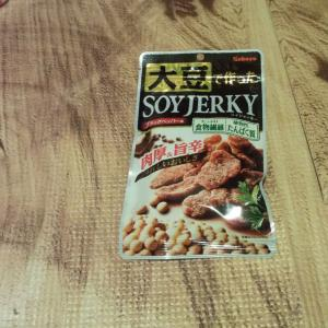 大豆で作ったSOY JERKY 感想