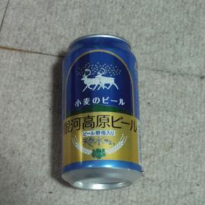 外出自粛のため、晩酌( ´艸`) 銀河高原ビール グレープフルーツシードル