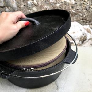 ニトリのダッチオーブンにシンデレラフィットしたステンレス食器セット!!