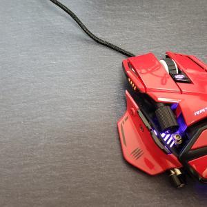 【レビュー】自分の手に合わせてなカスタマイズ可能マウス「Mad Catz R.A.T. 8+ ADV」