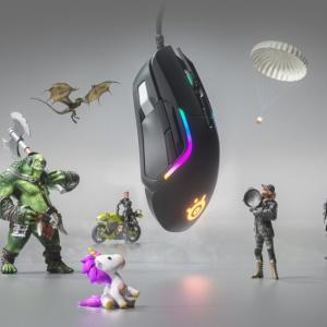 SteelSeriesから8ボタン搭載のゲーマー向けマウス「Rival 5」を発表