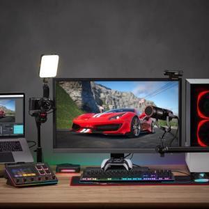 AVerMediaからタッチパネル搭載のオーディオミキサー「AX310」と実況配信者向けマイク「AM330」が発売