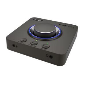 Creativeがボイスチャット向け機能など強化したUSBサウンドデバイス「Sound Blaster X4」を発売。