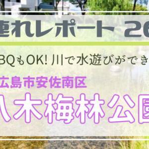 【広島市安佐南区・八木梅林公園】BBQもできて、気軽に行ける水遊びスポット