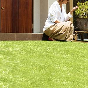 【2020年度版】 DIYにおすすめ!人気のリアル人工芝の実物比較-モダンデコ リアル人工芝 35mm フレッシュグリーン