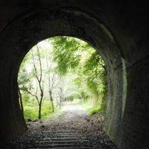 トンネルの中をハイキングしよう!【JR福知山線廃線敷】兵庫県宝塚市