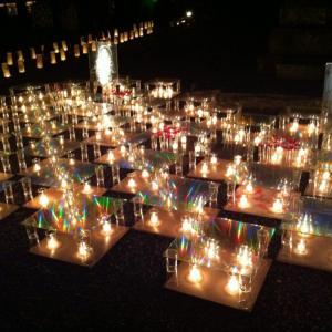 年に1回、たった5時間だけ開催される本妙寺桜灯籠