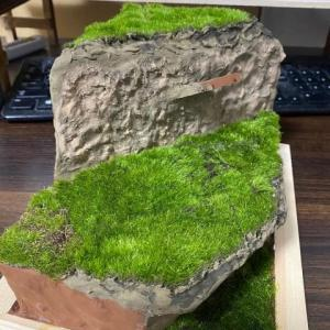 ニルヴァーシュ⑪ ベースに芝を作ります