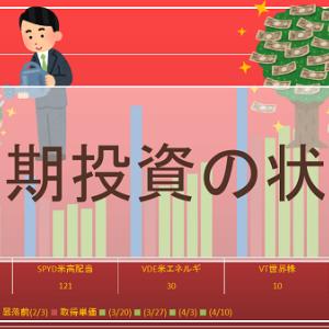 長期投資の状況(4/17時点)