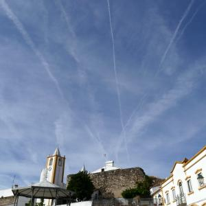 飛行機雲!