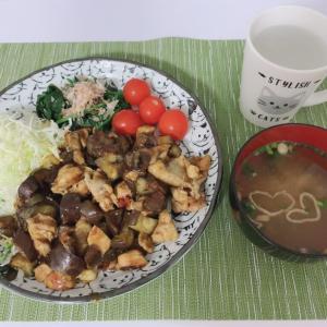 【晩ご飯紹介】鶏のむね肉を使った麻婆茄子【CookDo】