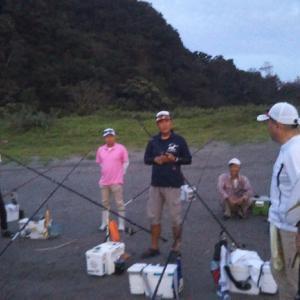 徳島鱗友サーフ キス釣り例会に参加