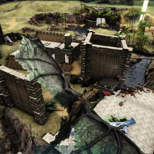 【Ark:Survival Evolved】ラグナロク本拠点!【Ragnarok】