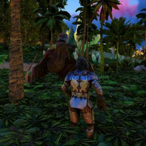 【Ark:Survival Evolved】新キャラ トロペオグナトゥス発見!【Crystal Isles】