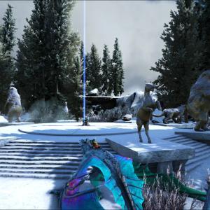 【Ark:Survival Evolved】マップをさっくり回るよ!【Fjördur】