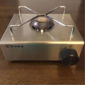 シンプルでおしゃれなガスコンロ「kovea cube」