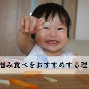 赤ちゃんに手掴み食べをおすすめする理由