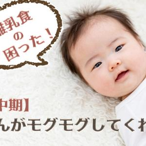 【お悩み:中期】赤ちゃんがモグモグしてくれない!
