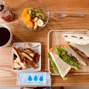 今日のお昼はおうちカフェっぽくやってみた