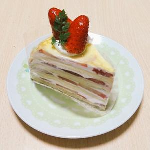 ペコリさんでお誕生日ケーキ