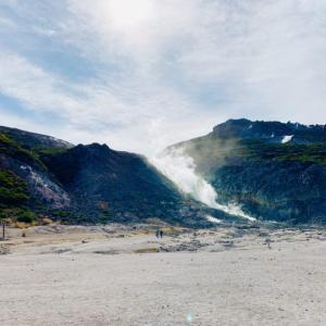 硫黄山の楽しみ方~見どころと感想まとめました~