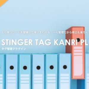 【特典】AFFINGER5に付いてくる『STINGERタグ管理プラグイン3』の使い方を解説!!