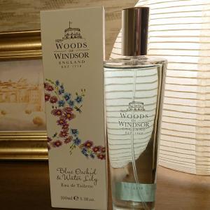 英国ウッズ・オブ・ウィンザーの香水。