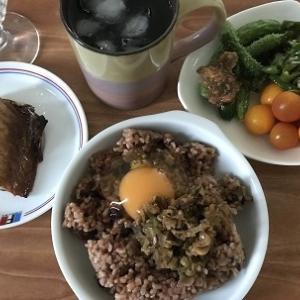 お盆は旦那の親と夕食☆&体重測定‼&お酢の力で健康ダイエット85日目記録#161