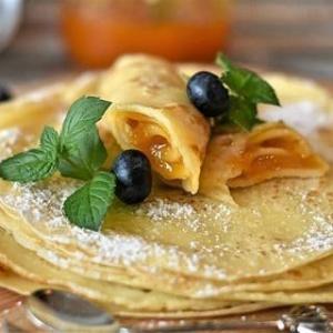 【クレープ】フライパンで簡単においしい朝食を!