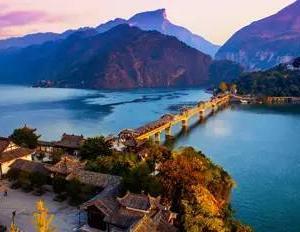 【白帝城】劉備の最期を看取った長江に浮かぶ古城