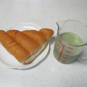 ミルククリームサンドパン【血糖値管理】