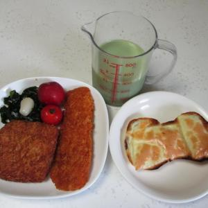 チーズレーズンロールパン【血糖管理】