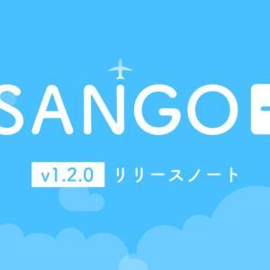 SANGO専用プラグイン「SANGO+(プラス)」 v1.2.0リリースノート 9月27日