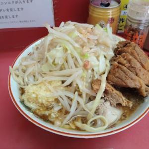 【レポート】ラーメン二郎小岩店2021/07/16テイクアウト汁なし