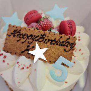 三男KKの5歳のお誕生日