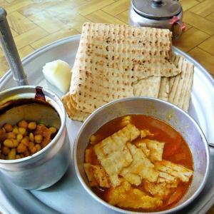 【イラン】イランの国民食ディズィーの食べ方。