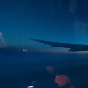 カナダへの夜明け、飛行機無事カナダの地に着陸する【カナダ留学編】