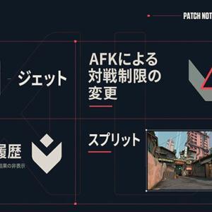 【Valorant (ヴァロラント)】パッチノートV2.01!マップ『スプリット』とAFK制限の変更