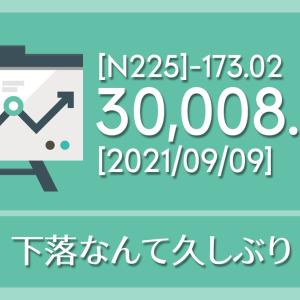 【2021/09/09】本日の東京株式市場メモと投資のヒント