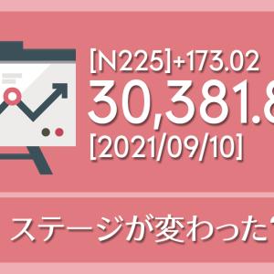 【2021/09/10】本日の東京株式市場メモと投資のヒント
