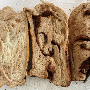 ホームベーカリーでマーブルパン